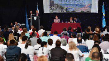 El congreso se desarrolla en la Escuela 193 de Puerto Madryn.