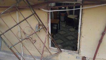 entro a robar en una casa y lo detuvieron cuando intento escapar por la ventana