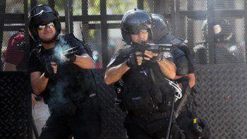 El criterio para usar armas de fuego es muy laxo y quedará a criterio de las fuerzas represivas.