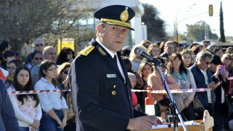 Un Jefe de Policía se plantó contra el protocolo Bullrich