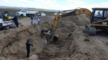 hay nueve barrios sin agua por una rotura en el acueducto