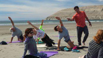 Yoga al aire libre: este sábado en Rada Tilly