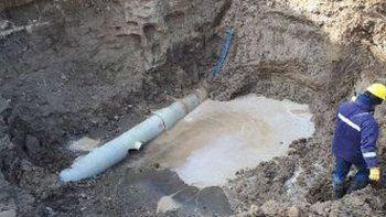 La rotura del acueducto fue por un intento de conexión clandestina