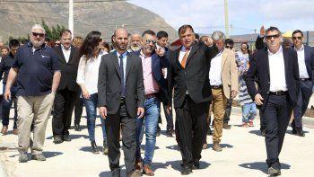 En ocasión del nuevo aniversario de la ciudad, fue inaugurada la pavimentación de 1.300 metros de la calle Los Pioneros