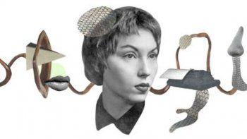 Google rinde homenaje a la escritora Clarice Lispector
