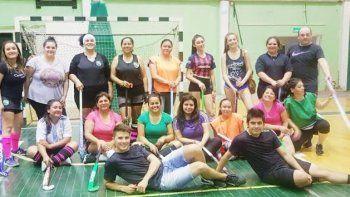 La actividad se lleva adelante en el gimnasio Cemento Comodoro. El proyecto apunta a sumar más gente en el corto plazo.