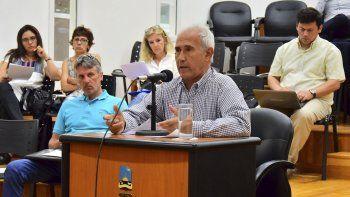 Francisco Cores fue uno de los pocos vecinos que participó de la audiencia. Quiero que legislen en función de la realidad, dijo.