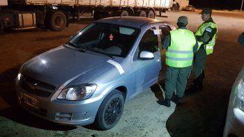 manejaba un auto que habia sido robado en sarmiento