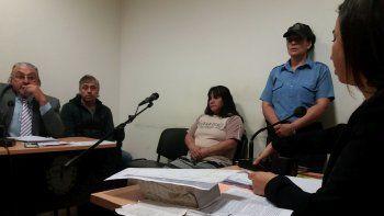 ratifican la prision a la mujer que le corto el cuello a su ex