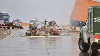 camionero chileno recibio un ano y medio de prision por un accidente con cinco victimas