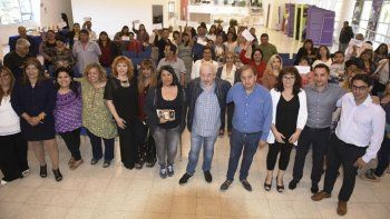 El municipio realizó ayer la última entega de aportes del FAEM de este año.