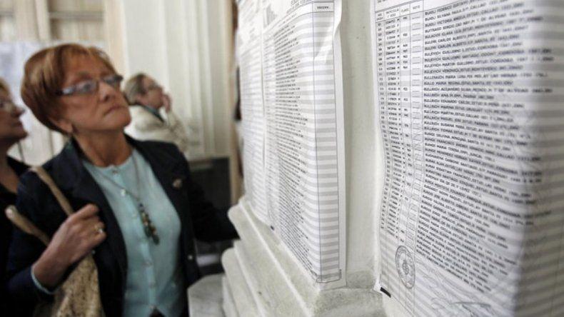 El padrón provisorio contiene casi 8 mil electores menos que en 2017.