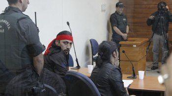 Facundo Jones Huala durante el juicio que afrontó ante el Tribunal Oral Penal de Valdivia.