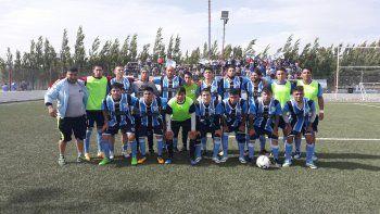 Caleta Córdova jugará la próxima temporada en la categoría B del fútbol de Comodoro Rivadavia.