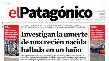 el patagonico no se imprimio por problemas tecnicos