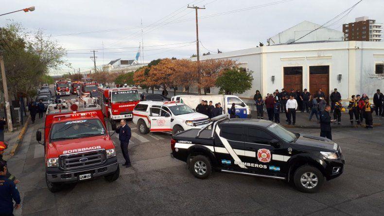 Bomberos de Chubut declaran el estado de emergencia financiera