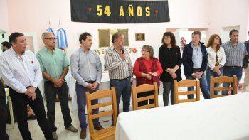 Restinga Alí celebró con un acto sus 54 años de existencia como barrio.
