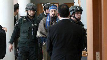 Facundo Jones Huala fue condenado a 5 años y siete meses de prisión en Chile.