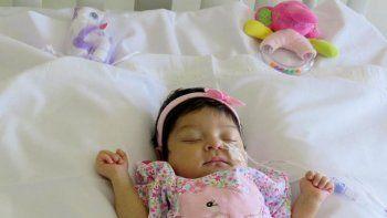 Beba comodorense de sólo 27 días recibió un trasplante
