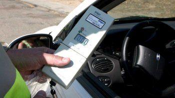Este año labraron un 50% más de multas  por alcoholemia en comparación con 2017