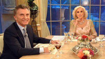 Mirtha Legrand recriminó a Macri por sus constantes vacaciones