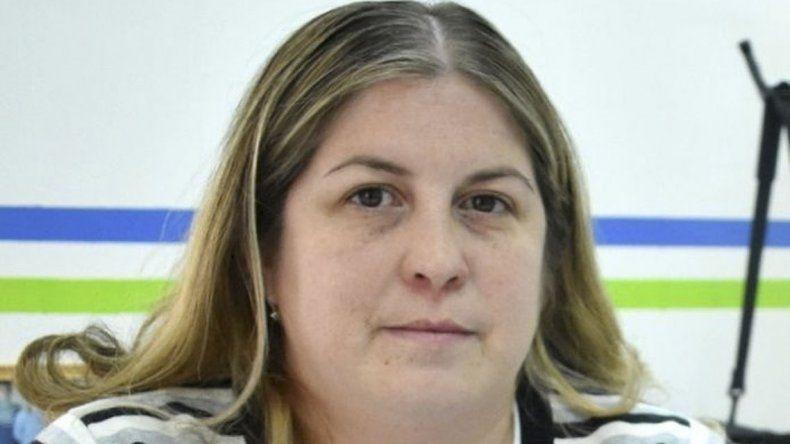 La contadora Marta Sansana hizo referencia a la tarea que desplegó la secretaría a su cargo.