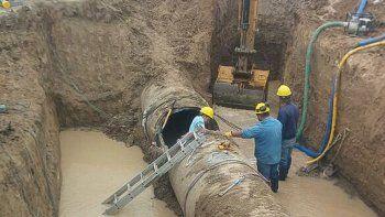 por mantenimiento interrumpiran el bombeo del nuevo acueducto