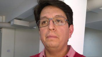 Gustavo Pinchulef, subsecretario de Transporte de Chubut.