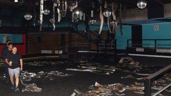 La estructura del edificio no resultó dañada pero en su interior los daños fueron cuantiosos.