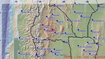 Un sismo sacudió a San Juan y Mendoza