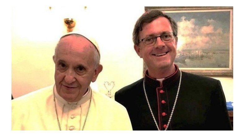 Jorge Ignacio García Cueva fue desinado ayer por el Papa Francisco como nuevo obispo de la diócesis de Río Gallegos. Aún no está confirmada la fecha de su asunción pastoral.