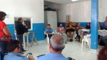 Vecinalistas de la zona sur piden la continuidad de los comisarios de la Seccional 4° y 5°