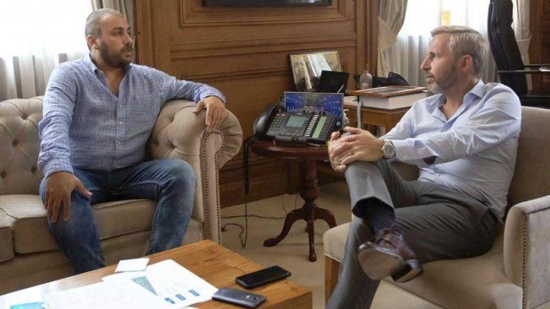 El intendente Facundo Prades fue recibido por el ministro del Interior