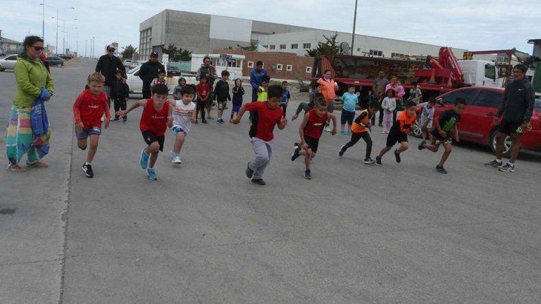 Los mini runners empezaron el año corriendo