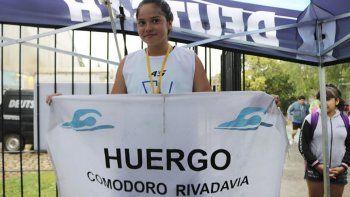 Melina Morel logró la medalla de bronce en los 200 metros estilo Mariposa.