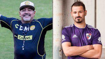 Maradona conmovió con un mensaje de apoyo a Rodrigo Mora