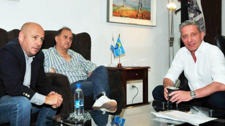 Arcioni, Linares y Sastre se reunieron de cara a las elecciones