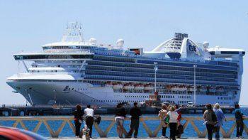 Puerto Madryn recibió unos 6.300  visitantes a bordo de dos cruceros