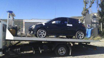 El vehículo que fue secuestrado como parte de la investigación del ataque sufrido por Olivera.