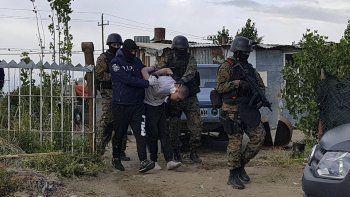 Enzo Uranga fue capturado ayer a las 7 en una casa ubicada en la zona de la antigua Radioestación de YPF.