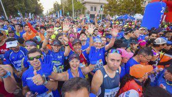 El Maratón de Santiago de Chile se llevará a cabo el 7 de abril.