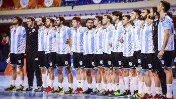 La selección argentina de hándbol cumplirá esta tarde su debut en el Mundial de Mayores.