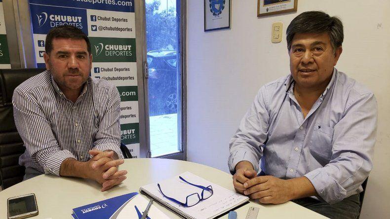 Walter Ñonquepán y Javier Treuque evaluaron los compromisos que se vienen en lo que al fútbol provincial se refiere.