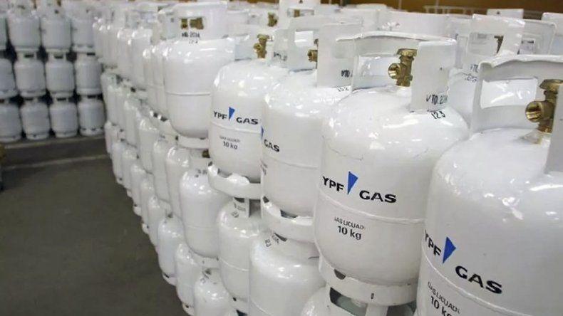 El gas envasado se comercializa en garrafas y cilindros.