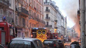 Explotó una panadería en París: cuatro personas murieron