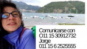 desesperada busqueda de dos jovenes en la zona de siete lagos