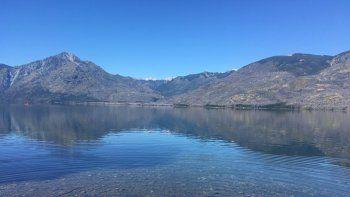 Foto: El imponente paisaje de Lago Epuyén.