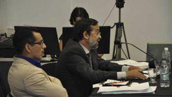 El fiscal Fernando Rivarola al presentar la acusación.