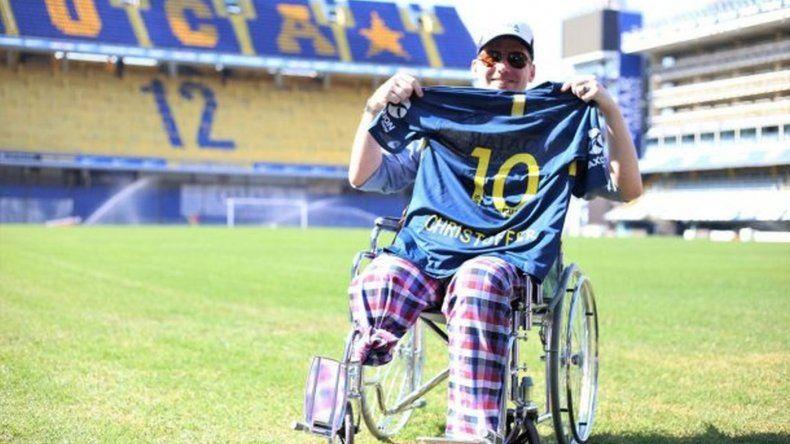 Habló el turista sueco que perdió la pierna: amo esta ciudad y voy a volver