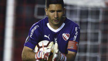 Martín Campaña será esta noche uno de los titulares en el amistoso que Independiente sostendrá con Gimnasia en Mar del Plata.